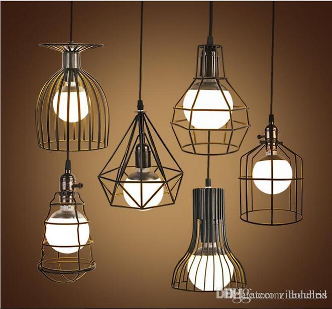 Bird Cage Pendant Lights 2