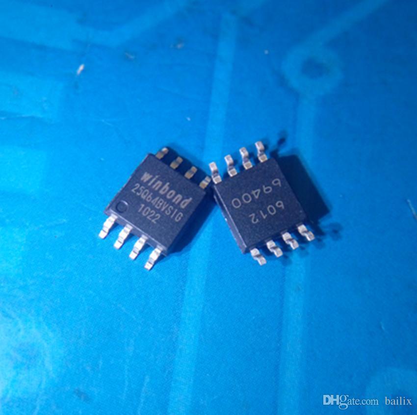 Toptan-Ücretsiz kargo 10 grup adet W25Q64 W25Q64BVSSIG W25Q64JVSSIQ W25Q64BVSSIG SOP8 stokta yeni ve orijinal ic