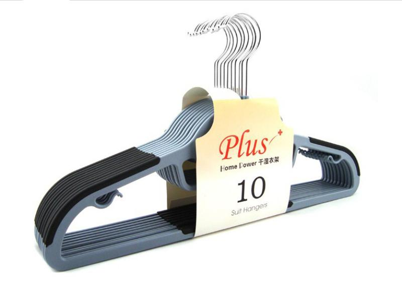 42cm Dry Wet Clothes Hangers Non-slip Thin Space Save Storage Racks Plastic Hanger for Coat Suit Skirts Trousers