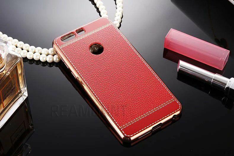 Fashion Style Leder Patten TPU Handy Fall Abdeckung für Huawei 6 7 8 für Huawei 5A 5c 5x zurück Abdeckung Fall