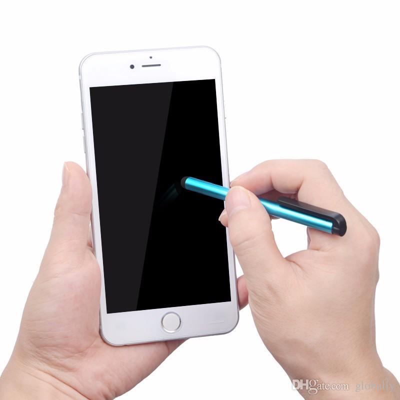 بالسعة ستايلس القلم البسيطة ستايلس تعمل باللمس القلم لسعة الشاشة اي فون 5S باد 2/3/4 SUMSANG S5 / S4