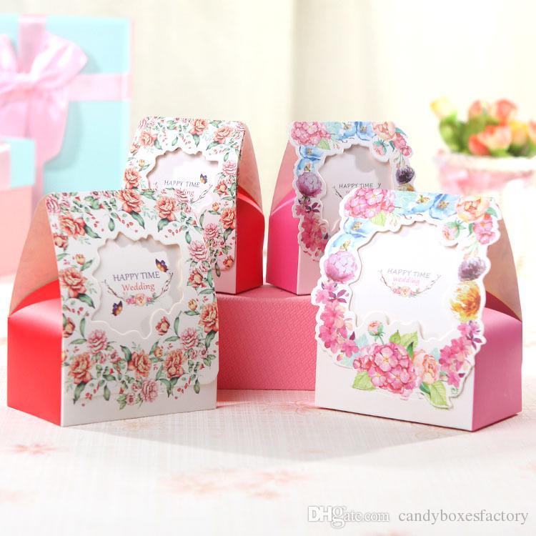 Wedding Candy Box Decorative Pattern Gift Box Wedding Candy Box Simple Decorative Candy Boxes