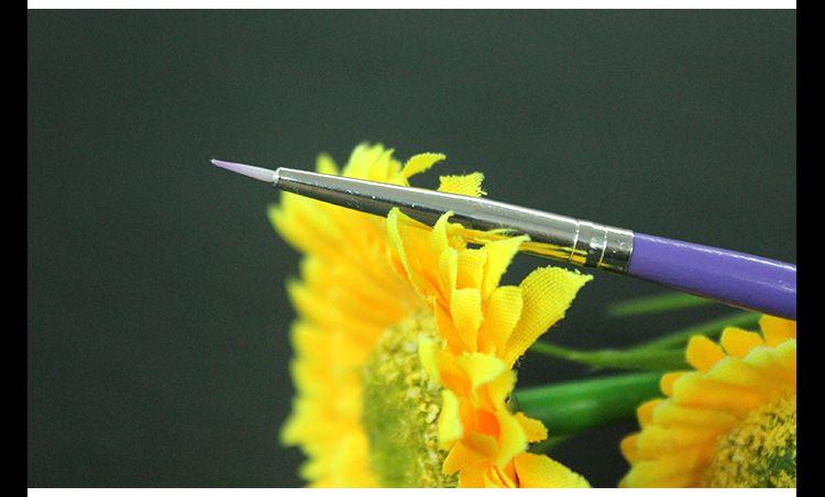 보라색 네일 아트 디자인 브러쉬 매니큐어 페인트 도트 도구 브러쉬 펜 세트 에 대한