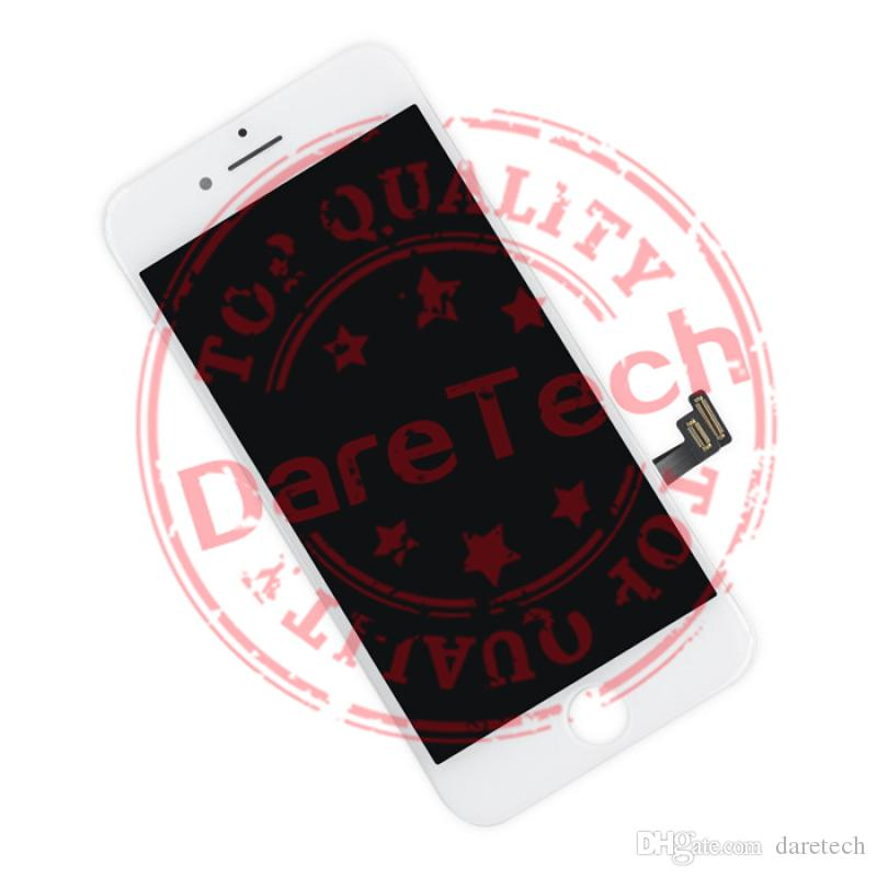Grade A +++ Display LCD Touch Digitizer Frame Assembly Repair iPhone 7 7 Plus spedizione gratuita DHL