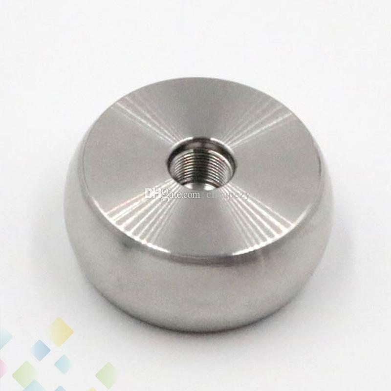 Stainless Steel Base Metal Holder Clearomizer Base Atomizer Stand Suit for 510 Atomiers Chess shape E Cig Accessories DHL Free