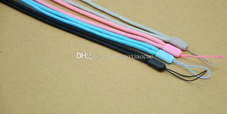 long Nylon Wrist Hand Strap Lanyard for Mobile Cell Phone Camera USB MP4 Straps colorful color