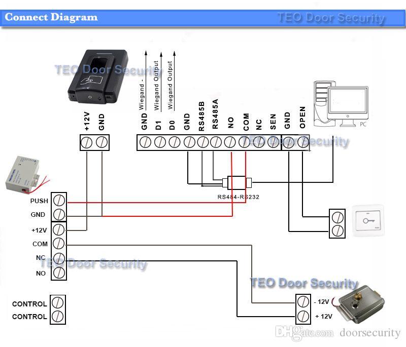 Suitbale для всех двери системы безопасности входа доступа новый электронный замок двери для дома проводной видео домофон дверной звонок системы безопасности DC12V