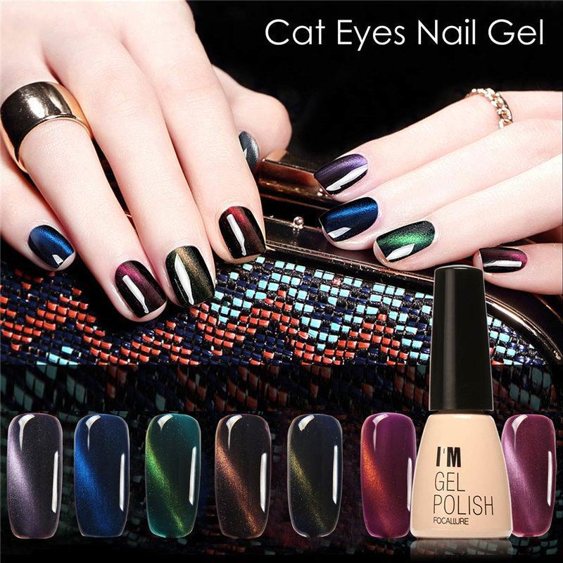 Wholesale Focallure Hot Sale Cat\'S Eye Gel Polish Soak Off Decals ...