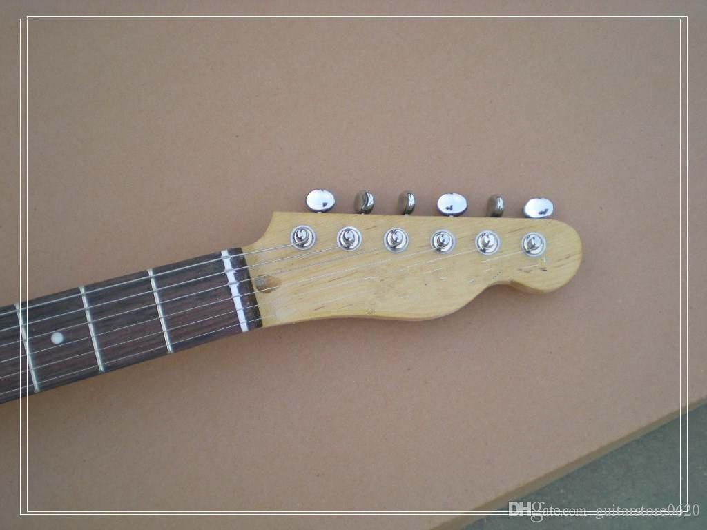 Бесплатная доставка Оптовая новый tl электрогитара sunburst цвет /oem гитара/гитара в Китае
