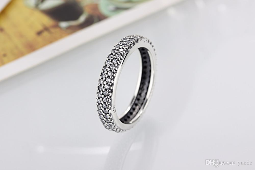 2017 Rushed Sale Women Party Round Anillos Endeli Wholesale Europe Ring Fashion Jewelry Fit Pandora 925 Rings Charm Retro