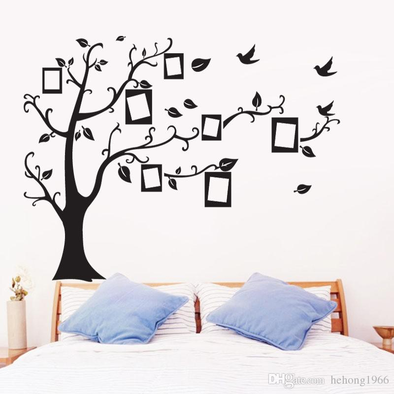 Wall Stickers Photo Frame Tree Shape Sticker Used For A Living Room Bedroom Wallpaper DIY Removable Decor Decal 2 5gl A