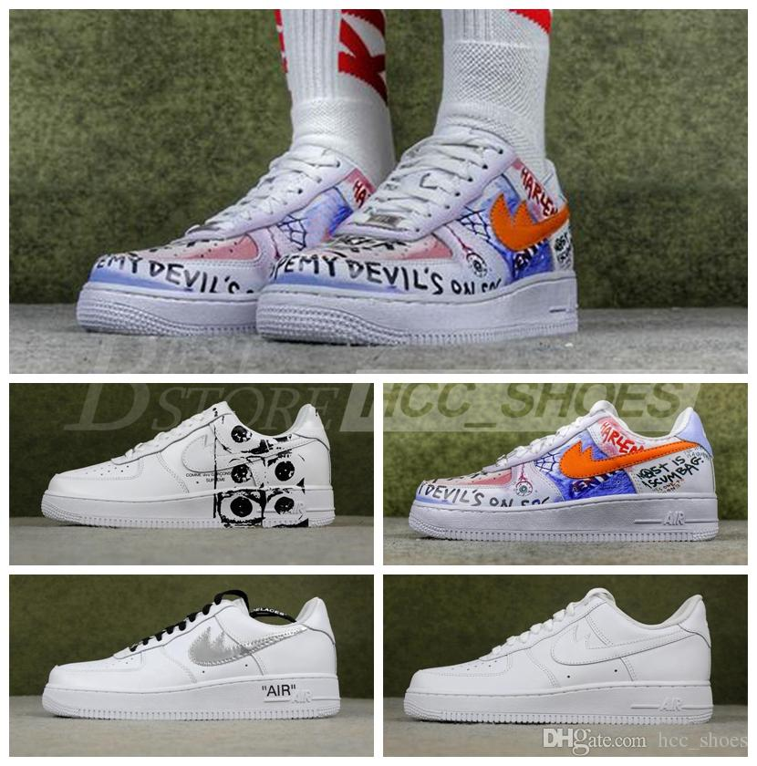 a2950cdf5c272e Off White X Air Shoes Vlone 1 Pauly Colorways Comme Des Garcon Top Quality  Low Men Womens Skateboarding Shoes Hoka Running Shoes Shoes On Sale From ...