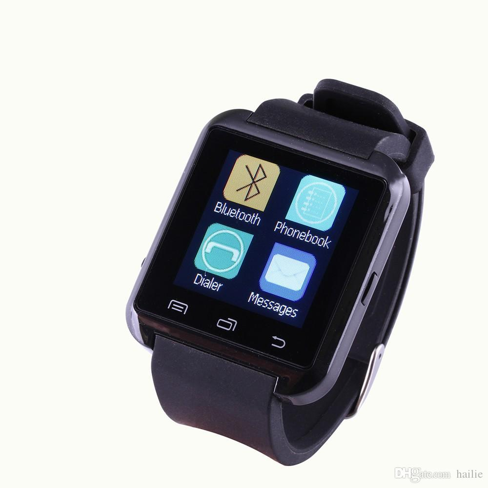 2016 Bluetooth Smartwatch U8 U Watch Smart Watch Wrist Watches for iPhone 4 4S 5 5S Samsung s7 HTC Android Phone Smartphone