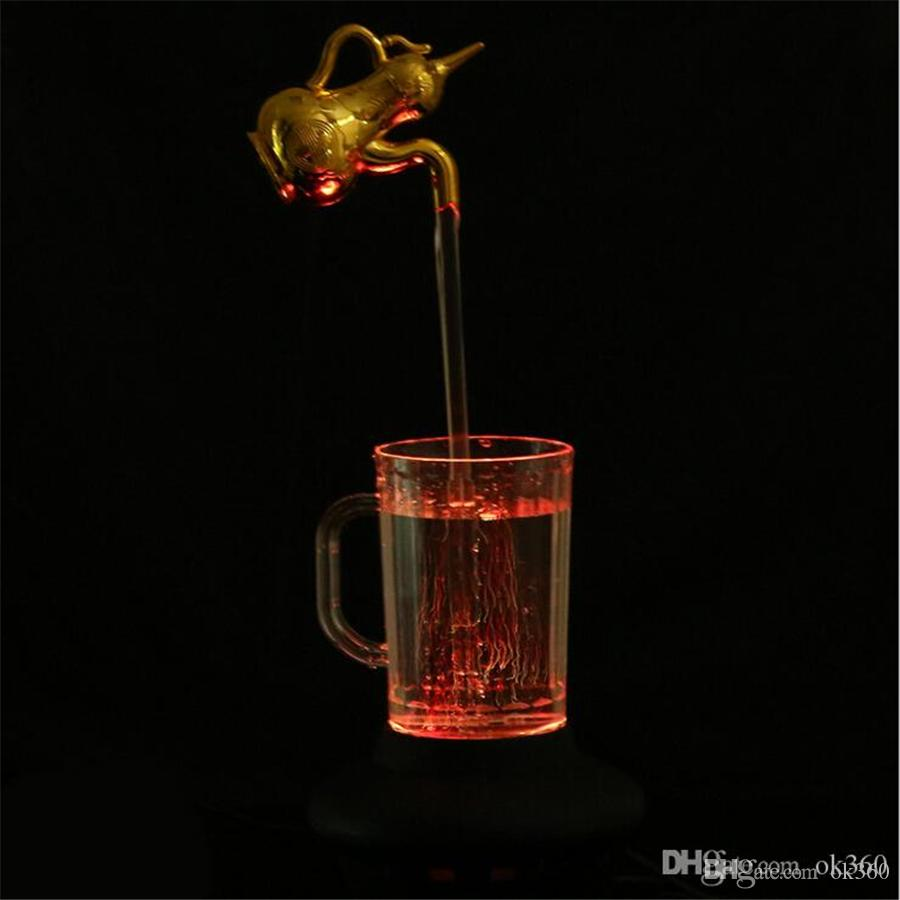 Best Led Water Lamp Decoration Light Colorful Magic Cup Lamp Magic ...