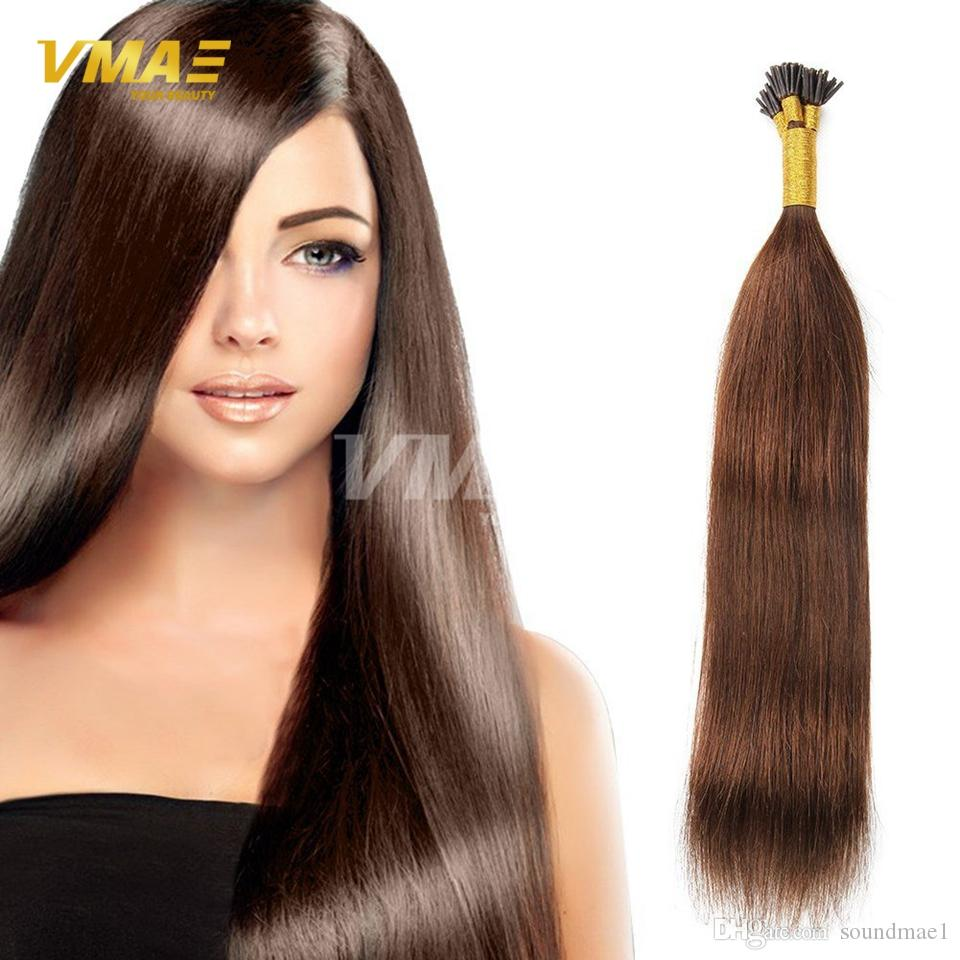 I Tip Keratin Fusion Remy Hair Extensions 25 Strandspack All Colors