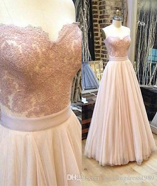 Beautiful Sweetheart Spring Beach Wedding Dresses Lace Chiffon Bohemian Boho Garden Country Style 2018 Vestido de novia Formal Bridal Gown
