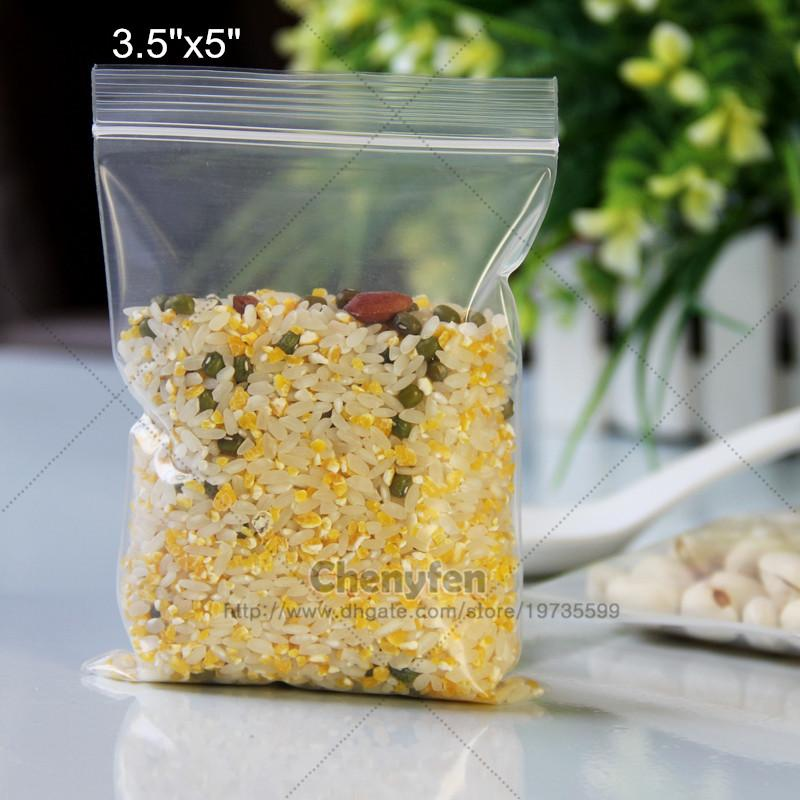 35x5 clear 9x13cm thick 6mil reclosable resealable ziplock zipper poly plastic bags from chenyfen dhgatecom