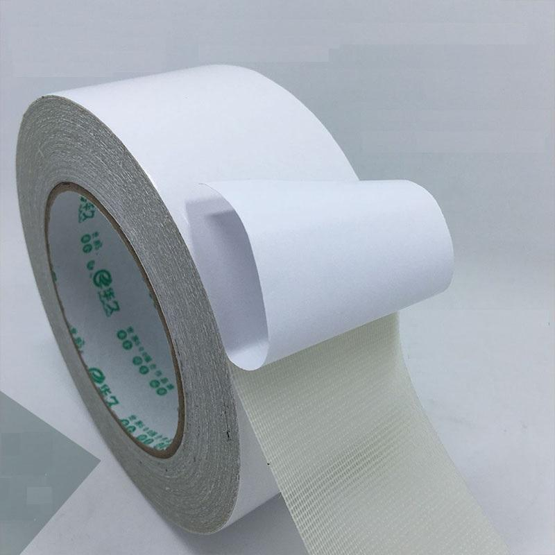 Double-sided carpet tape strong mesh cloth-based tape high-density floor leather special tape seamless seamless double-sided adhesive