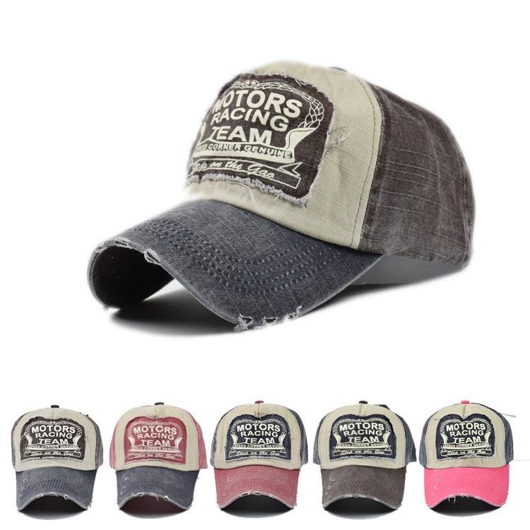 Compre Al Por Mayor Verano Nuevo Unisex Para Mujer Gorra De Béisbol Para Hombre  Snapback Baseball Adultos 58 60 Cm Cap Hats Trucker Bike Hat Motors Racing  ... 4f052926ee4