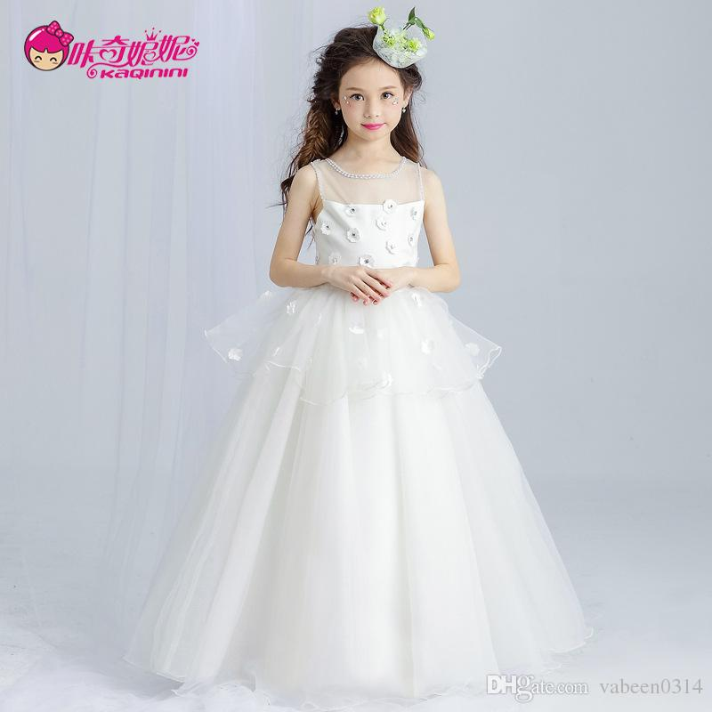 2017 New European And American Summer Limited Luxury Girl Wedding ...