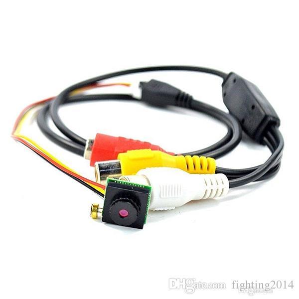 "700TVL 1/4"" CMOS Mini DIY Camera 8*8 10*10 mini camera CCTV Micro HD Video Audio Recorder Pinhole Camera NTSC/PAL"