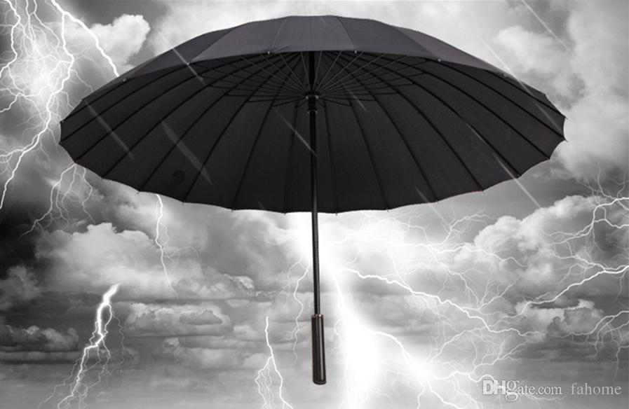 3 couleurs golf parapluie grande taille coupe-vent protection solaire imperméable bâton parapluies parasol pour hommes femmes