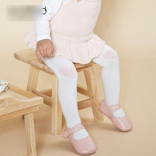New Baby Pantyhose Leggings Princess girl Tights Cotton Cute Love Peach Heart Pant Socks Pantyse Tight PP Pants Girls Legging Pants A6586