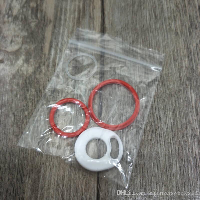 Оптовое Smoktech SMOK TFV12 Силиконовые уплотнительные кольца TFV12 Замена верхнего уплотнительного кольца O Кольца 4шт. Комплект DHL Бесплатная доставка