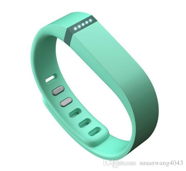 cinturino in silicone fitbit flex smart cinturino cinturino sportivo fibbia bracciale orologio intelligente in tinta unita materiali ecologici GSZ272