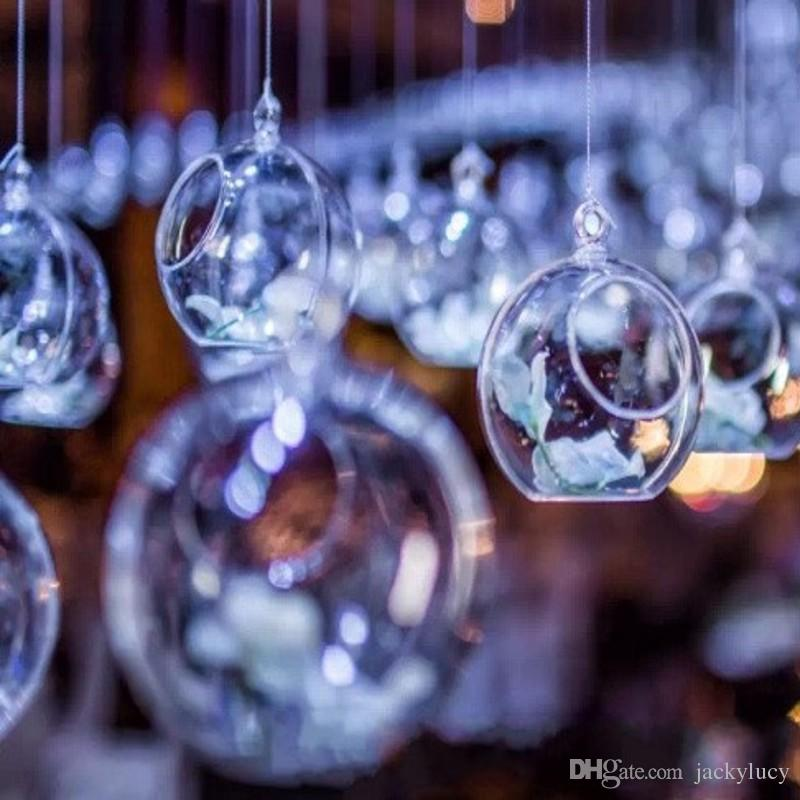 New 100mm transparent acrylic ball wedding party layout decorations new 100mm transparent acrylic ball wedding party layout decorations road lead arch flore hanging ornaments part home decor cheap wedding decorations online junglespirit Images