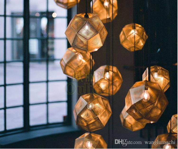 Moderne Lampen 88 : Großhandel edelstahl multi kugel metall pendelleuchte hinten moderne