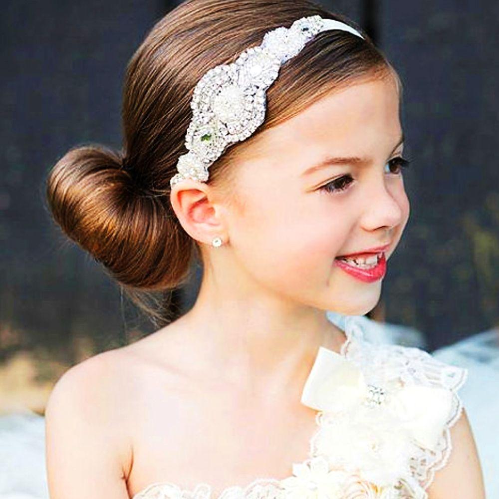 Baby Girl S Headwear Princess Rhinestone Headband Deluxe Headdress Girl  Crystal Hand Sewing Bling Sparkling Headband Girls Hair Accessories Storage  Wedding ... 7e0b35c1da9