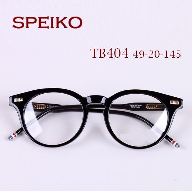 3fad99f44b 2019 TB404 SPEIKO Luxry Brand Eyeglasses New York Eyewear Glasses Retro  Round Frame Matching Degree Lenses Prescription Tb404 With Original Case  From ...