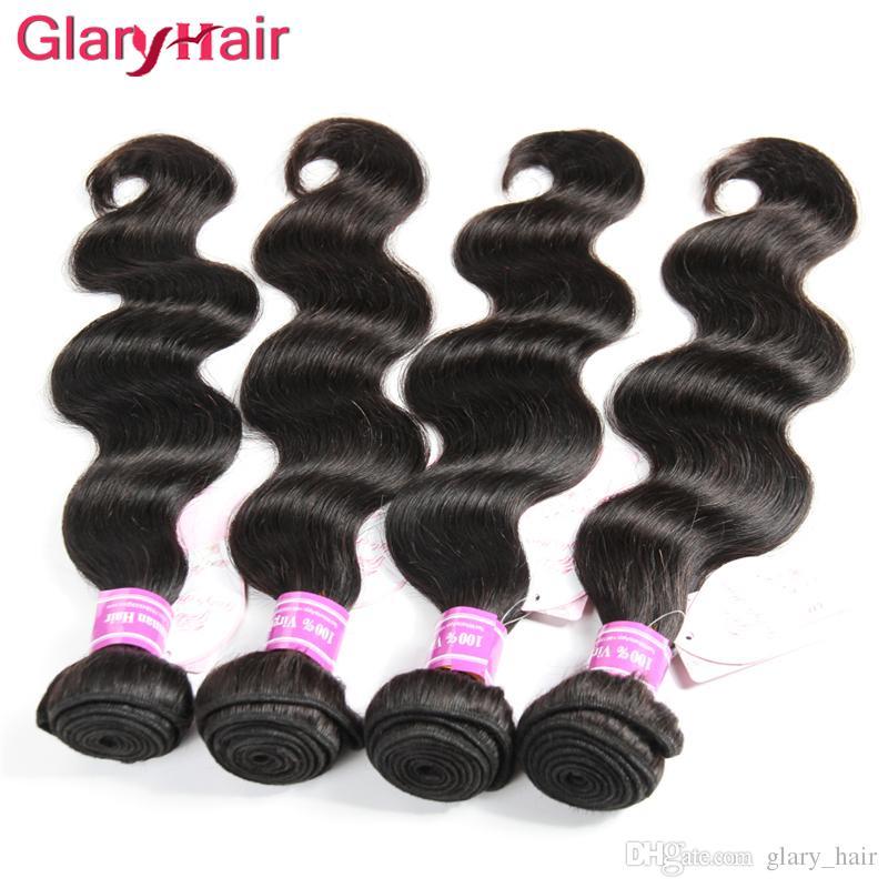 Cheap Brazilian Hair Bundles Malaysian Indian Peruvian Body Wave Hair Weaves Mongolian Cambodian Remy Human Hair Extensions Hot Sale Items
