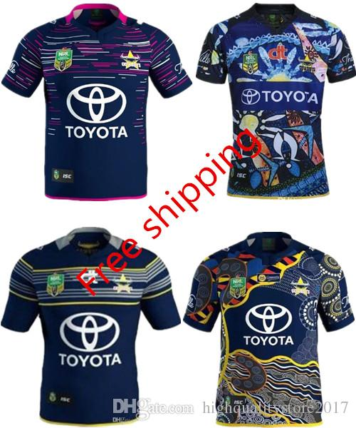 fc1cc5cfa 2019 3AAA+ 2017 New Zealand NRL Indigenous Camouflage Rugby Jerseys 16 17  RWC NRL Super North Queensland Cowboys Rugby Jersey Shirt From ...