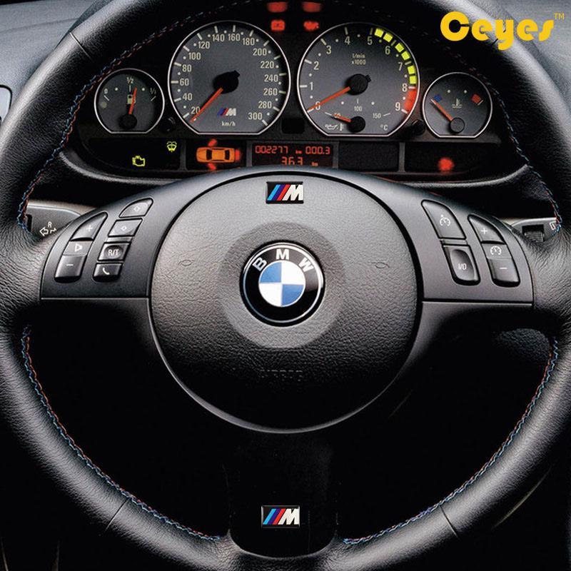 Auto Aufkleber für Bmw M M3 M5 M6 X5 E46 Persönlichkeit Etiketten Auto Dekorationen Zubehör Auto Kunststoff Drop Aufkleber Auto Styling 50 teile / los