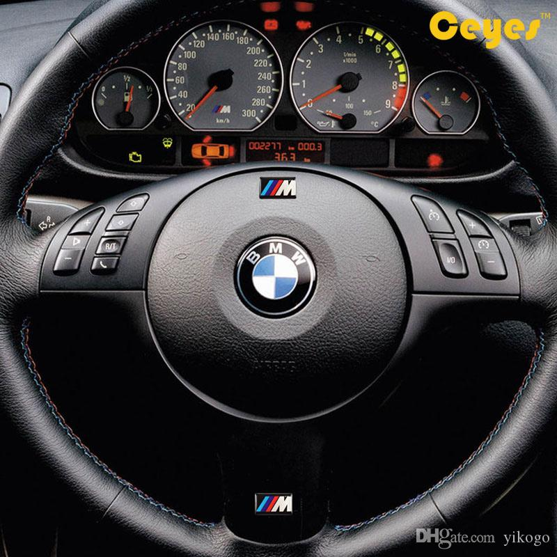 Car Stickers for Bmw M M3 M5 M6 X5 E46 Personality Labels Auto Decorations Accessories Car Plastic Drop Sticker Car Styling