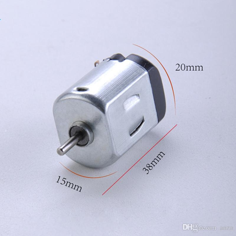 / 130 Small DC motor 3 to 5V Miniature motor four-wheel motor small+Gear package