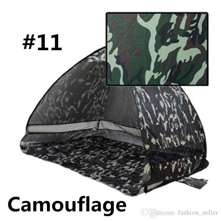 Summer Camp Graduation Travel Quick Automatic Opening Outdoors Tents 50+ UV Protection Outdoor Gear Camping Shelters Tent Beach Lawn DHL