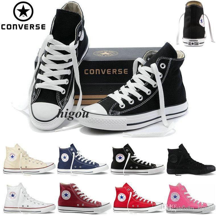 Nouvelle Converse Chuck TayLor All Star Core Rouge Chaussures Bas Bas Pour Hommes Femmes Mode Casual Toile Chaussures Converses Baskets Courir