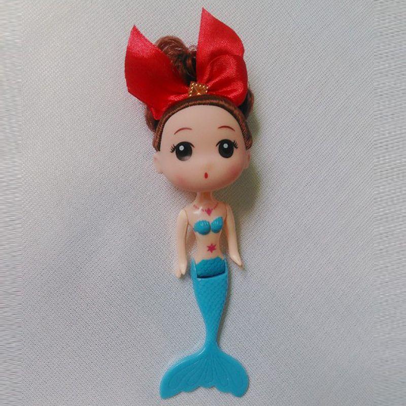 Mini Mermaid Doll,15cm Mini ddgir DDung Dolls with Different Headwear For Doll Cake Mold Decoration Girls Best Gift