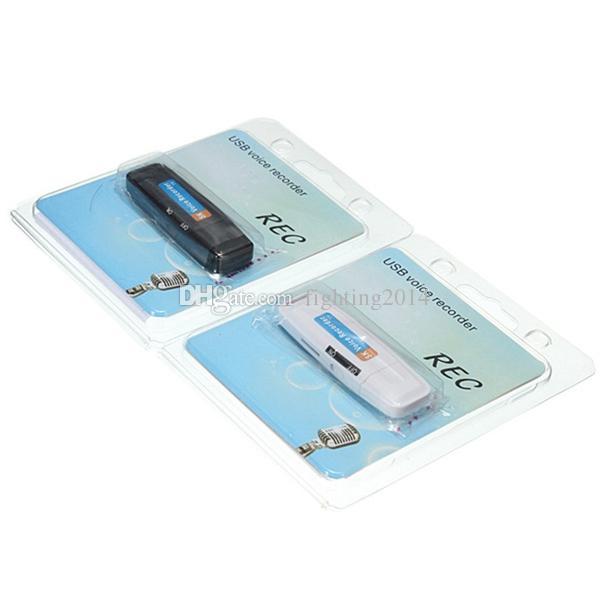 2 in 1 Mini USB Ses Kaydedici taşınabilir Şarj Edilebilir pil Kayıt Kalem MP3 formatı Kaydedici destek TF kart USB kart okuyucu