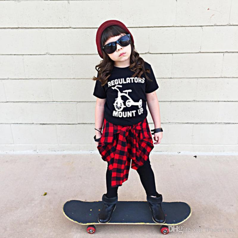 2018 Hooyi Baby Girl S T Shirt Infant Tee Shirt 100 Cotton Summer