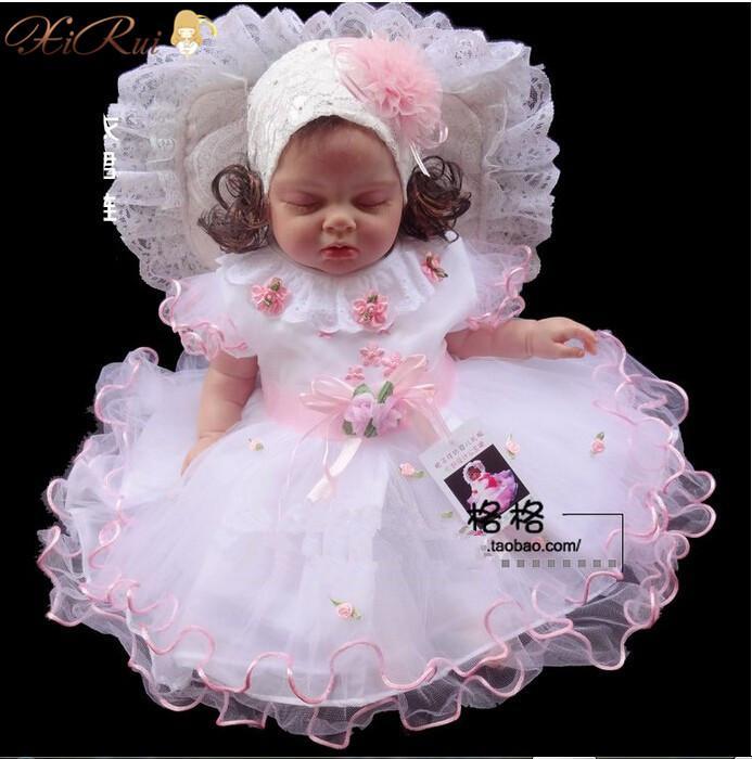 2018 Wholesale Baby Girl Baptism Christening Gown Wedding Dresses
