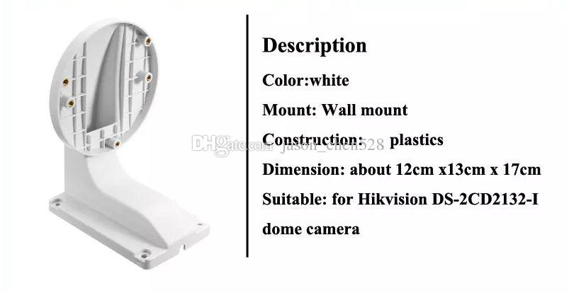 HIkvision Bracket DS-1258ZJ CCTV Accessories Indoor Wall Mount Bracket Dome Camera Bracket hikvision holder For Dome Camera DS-2CD3135F-IS