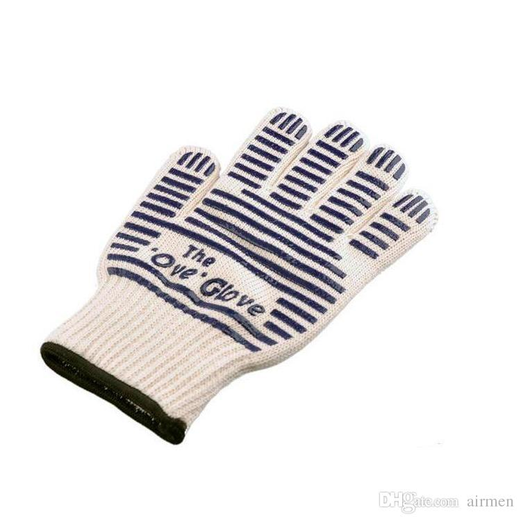 High Quality the Ove Glove Microwave oven Glove 540 F Heat Proof Resistant Cooking Heat Proof Oven Mitt Glove Hot Surface Handler DHL
