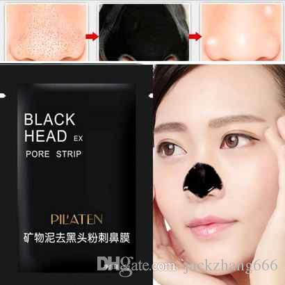 2017New Suction Black Mask Face Care Mask Cleaning Tearing Style Pore Strip Deep Cleansing Nose Acne Blackhead Facial Mask Remove Black Head