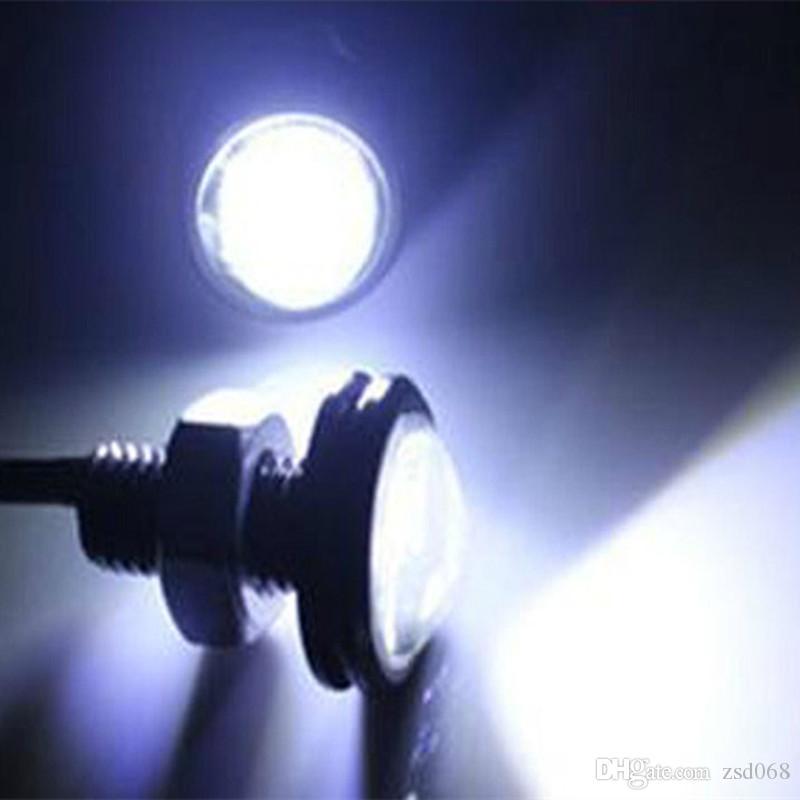 18MM 23MM LED Mini Aigle Parking Eye jour Conduite Feu arrière secours DRL lampe de brouillard Boulon sur Vis éclairage Agle lampe yeux