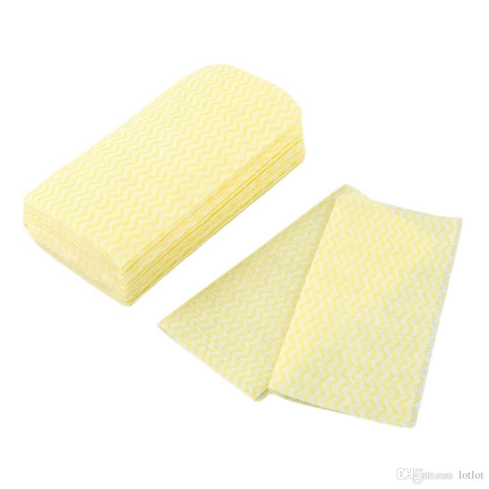 Einweg-saugfähiges Vlies-Reinigungstuch für trockenes Geschirrtuch Mehrzweckwaschlappen für die Küche