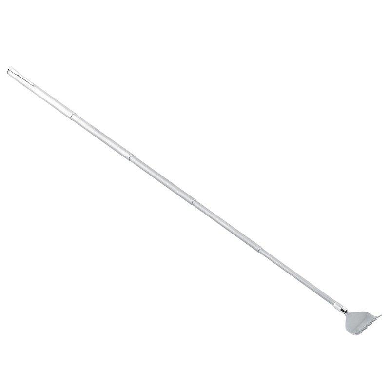Clip telescopica portatile regolabile in acciaio inossidabile ClipTelescopic Back Scratcher Prurito Scratch Tool Articoli la cura della salute